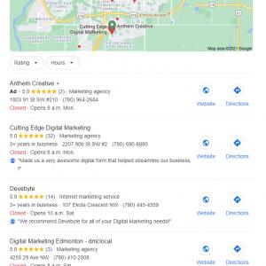 digital marketing edmonton Local SEO Experts Edmonton Alberta